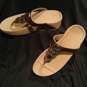 Fitflop Lunetta Bronze Sandal